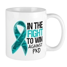 In The Fight PKD Awareness Mug