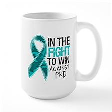In The Fight PKD Awareness Mug