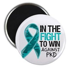 In The Fight PKD Awareness Magnet