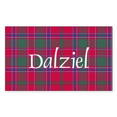 Tartan - Dalziel Decal
