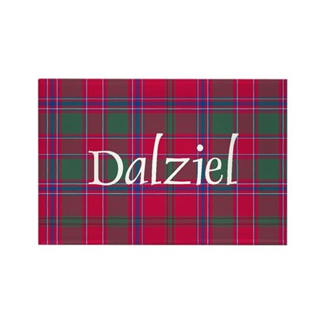 Tartan - Dalziel Rectangle Magnet (10 pack)