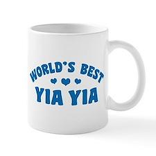 World's Best Yia Yia Small Mugs