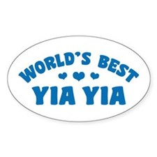 World's Best Yia Yia Bumper Stickers