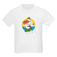 Cute Puppy Hawaii T-Shirt