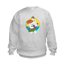 Cute Puppy Hawaii Sweatshirt