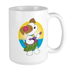 Cute Puppy Hawaii Mug