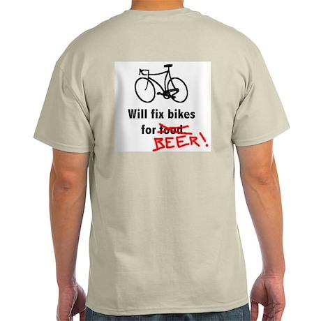 Hungry Bicycle Mechanic's Shirt