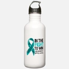 In The Fight PCOS Awareness Water Bottle