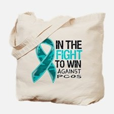 In The Fight PCOS Awareness Tote Bag