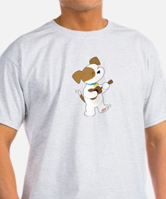 Cute Puppy Ukulele T-Shirt
