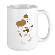 Cute Puppy Ukulele Mug