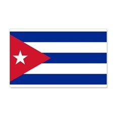 Cuban Flag 22x14 Wall Peel