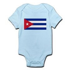 Cuban Flag Infant Bodysuit