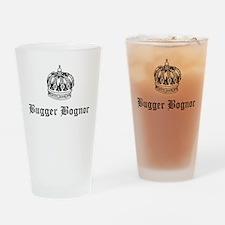 """""""Bugger Bognor"""" Drinking Glass"""