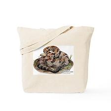 Timber or Canebrake Rattlesnake Tote Bag