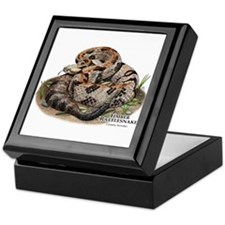 Timber or Canebrake Rattlesnake Keepsake Box