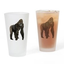 Gorilla Drinking Glass