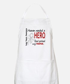Heaven Needed a Hero Lung Cancer Apron