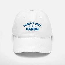 World's Best Greek Papou Baseball Baseball Cap