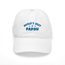 World's Best Greek Papou Baseball Cap