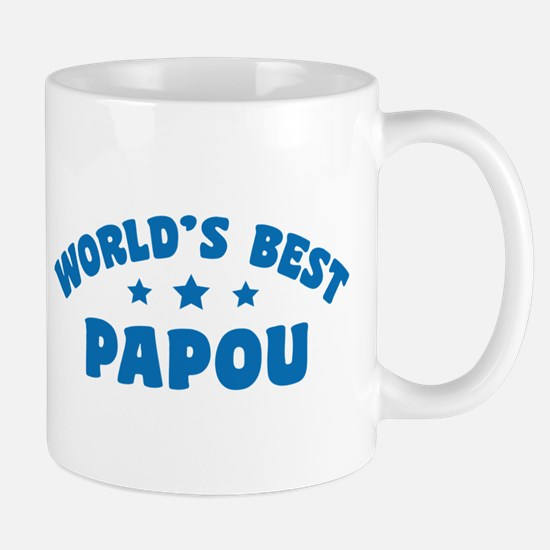 World's Best Greek Papou Mug