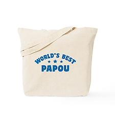 World's Best Greek Papou Tote Bag