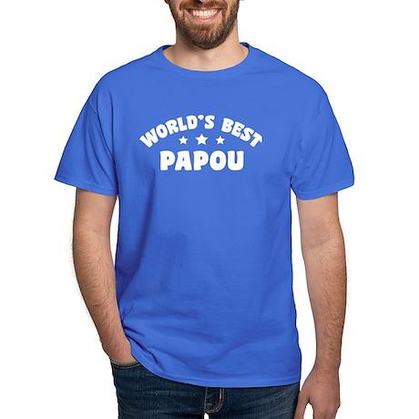 World's Best Greek Papou Dark T-Shirt