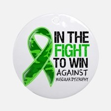 Fight Muscular Dystrophy Ornament (Round)
