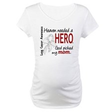 Heaven Needed a Hero Lung Cancer Shirt