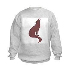Brown Wolf Sweatshirt