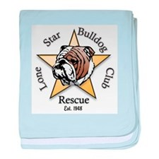 Funny Rescue dogs baby blanket