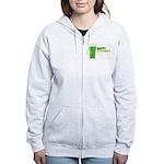 St Patricks Day Women's Zip Hoodie