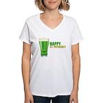 St Patricks Day Women's V-Neck T-Shirt