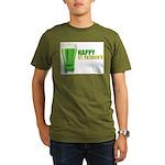 St Patricks Day Organic Men's T-Shirt (dark)