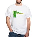St Patricks Day White T-Shirt