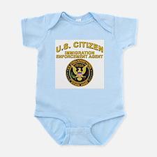Border Patrol, Citizen Agent  Infant Creeper