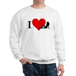 I Love Women Sweatshirt