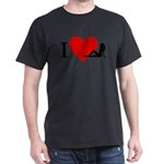 I Love Women Dark T-Shirt