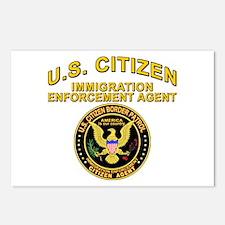 Border Patrol, Citizen Agent  Postcards (Package o