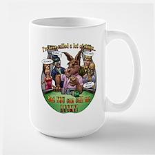 CALL ME LUCKY Large Mug