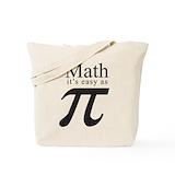I love maths Canvas Totes