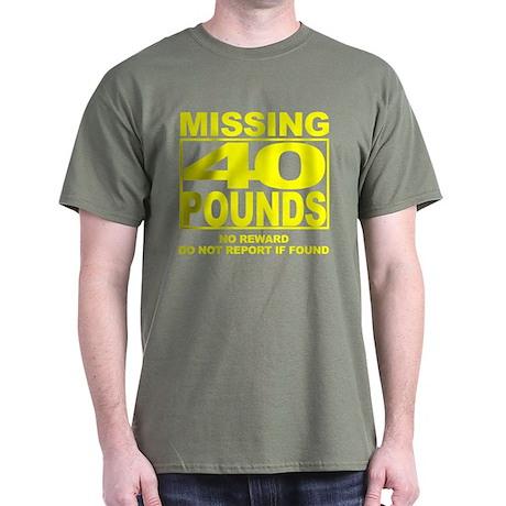 Missing 40 Black T-Shirt