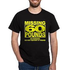 Missing 60 Black T-Shirt