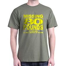 Missing 80 Black T-Shirt