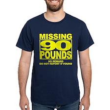 Missing 90 Black T-Shirt