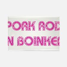 Pork Rod In Boinker Rectangle Magnet (100 pack)