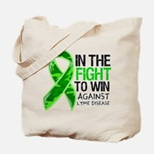 In The Fight Lyme Disease Tote Bag