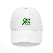 In The Fight Lyme Disease Baseball Cap