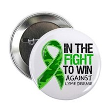 """In The Fight Lyme Disease 2.25"""" Button (100 pack)"""