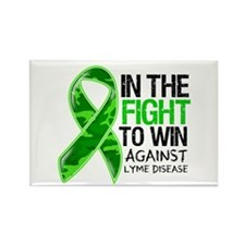 In The Fight Lyme Disease Rectangle Magnet